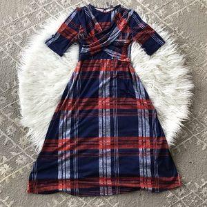 ASOS plaid dress